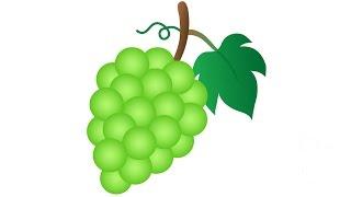 How to Draw a Grapes / Как нарисовать виноград(Drawing Channel - https://www.youtube.com/channel/UCaZm6IvtL9zNeDwQi571asA/videos Канал для рисования ..., 2015-04-15T09:30:02.000Z)