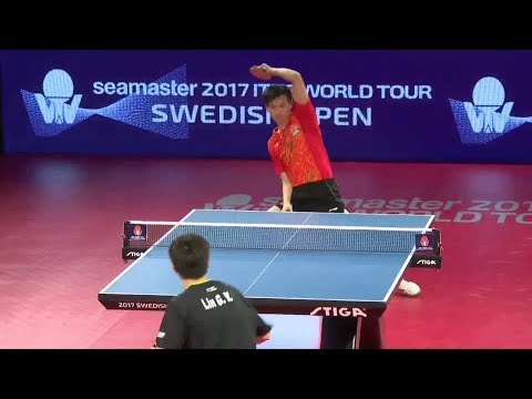 2017 Swedish Open (MS-QF) ZHOU Yu  Vs LIN Gaoyuan [Full Match/English|1080p]