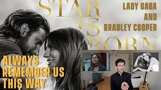 lady gaga always remember us this way review and reaction a star is born