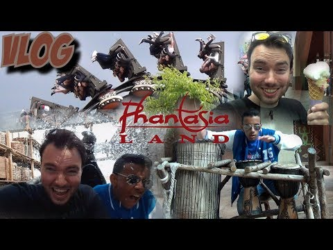 PHANTASIALAND VLOG - HERENIGD MET CITROEN IJS | JUST A LITTLE BIT WET @ RIVER QUEST!
