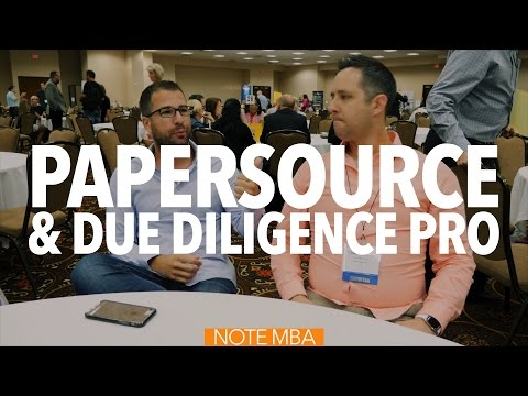 Paper Source Event In Las Vegas - Note Investing Podcast