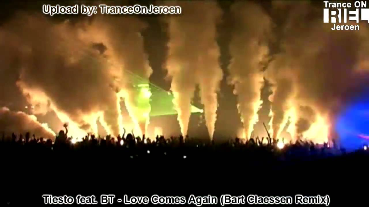 Tiesto feat. BT - Love Comes Again (Bart Claessen Remix) 2010 remix [Magikal Journey]