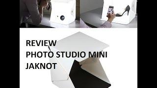 BOX Photo Studio Mini 1 Button Dengan LED Dan 4PCS Background SIZE S