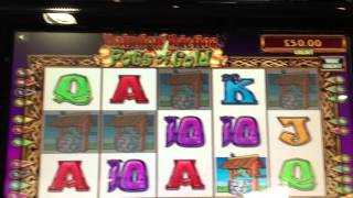 RAINBOW RICHES POTS OF GOLD, 5 WISHING WELLS, highest pick, poor result!
