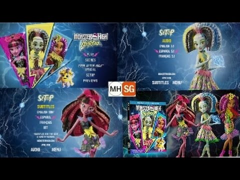 Download DVD Monster High Electrified