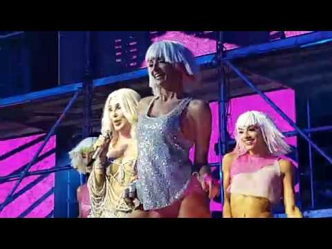 40th Sydney Mardi Gras with the mighty CHER  All or Nothing and Strong Enough