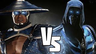 Injustice 2 - Raiden vs Sub Zero DLC Battles!