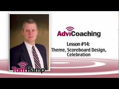 AdviCoach -Breathing Life Into the Strategic Plan #14-Theme, Scoreboard Design, Celebration