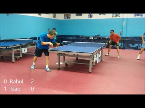 Wilson 1970 vs Rahul 1966 - ICC Table Tennis League