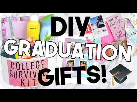 DIY Graduation Gifts! Cheap & Easy! - YouTube