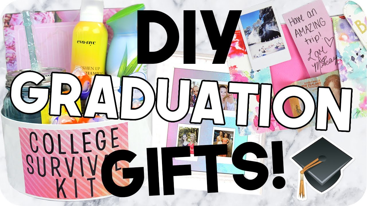 Diy Graduation Gifts Cheap Easy Youtube