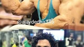 Gurjar khud sarkar hai bete song//with neeraj tanwar and bodybuilder gurjar boy