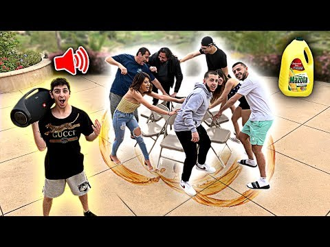 First To Sit Wins $10,000 - EXTREME Musical Chairs Challenge