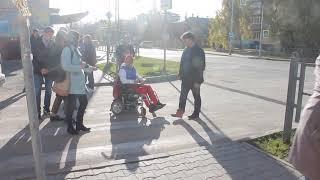Тест-драйв: На инвалидной коляске по Бердску 2