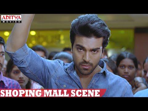 Yevadu Movie || Ram Charan Murder Police Officer In Shoping Mall