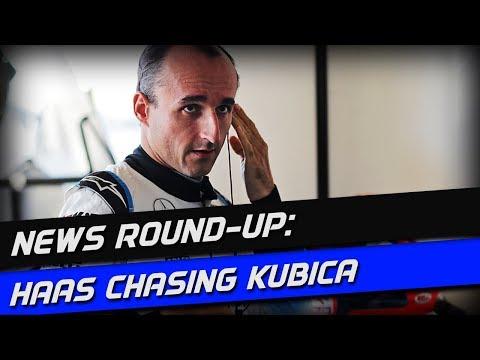 F1 News Round-Up: Haas Chasing Kubica