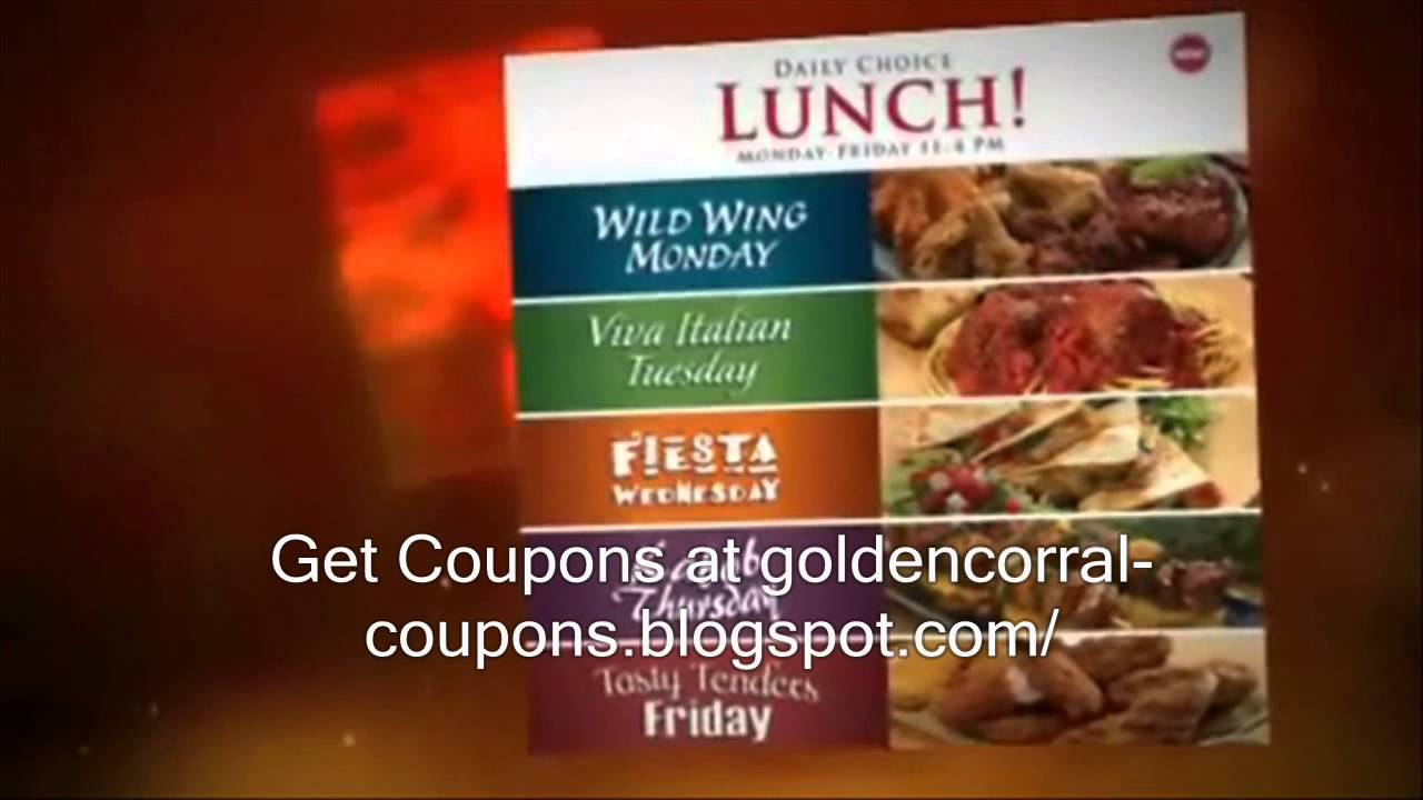 photograph relating to Golden Corral Printable Coupons titled Golden Corral Discount coupons 2013 Golden Corral Printable Coupon codes