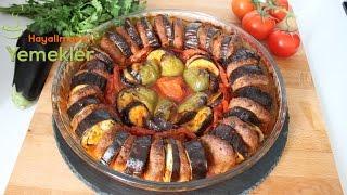 Fırında Patlıcan Kebabı Video