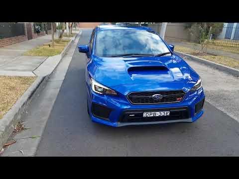 2018 Subaru WRX STI changes clutch pick up steering changes Wheels seating position Yokohama tyres