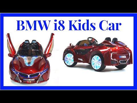 Bmw I8 12v Ride On Car For Kids Led Wheels Music Doors Remote