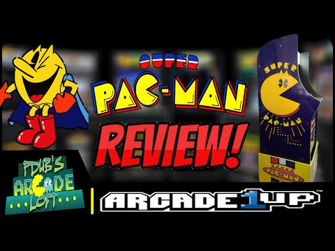 Arcade1Up Costco Super Pac-Man Arcade Cabinet Review! from PDubs Arcade Loft