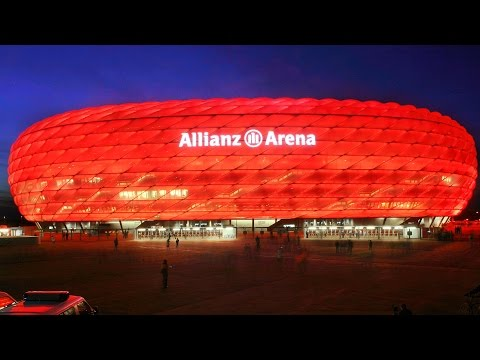 Allianz Arena  (Munich, Germany) time lapse | panTerra