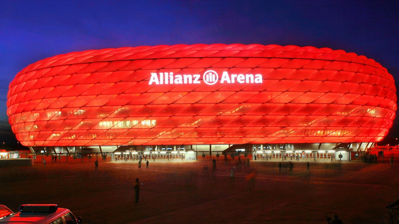 allianz arena munich germany time lapse panterra. Black Bedroom Furniture Sets. Home Design Ideas