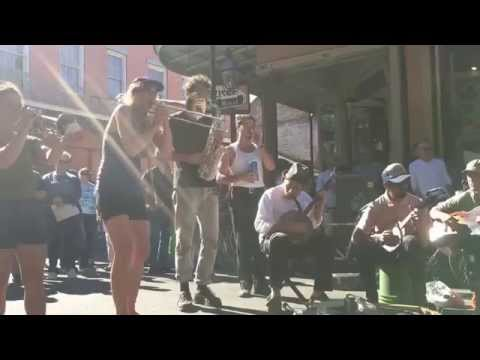 Buskers in New Orleans