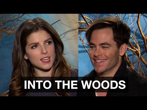 Anna Kendrick & Chris Pine Interview - Into The Woods