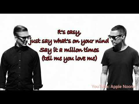 Galantis& Throttle - Tell Me You Love Me Lyrics b