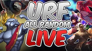 URF ALL RANDOM 2017 LIVE - League of Legends URF 2017 - ALL RANDOM URF