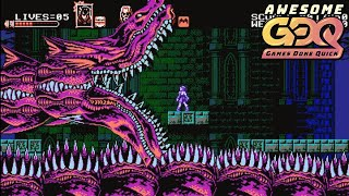 Bloodstained: Curse of the Moon by Laxxus in 21:37 - AGDQ2019