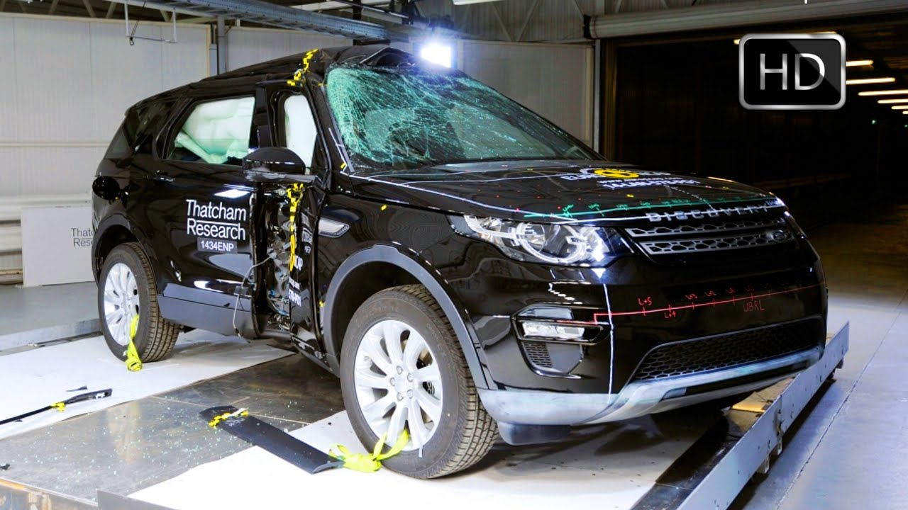 2015 Land Rover Discovery Sport 2.2 diesel Safety Euro NCAP Crach Test HD