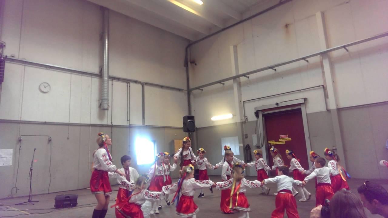 Ukrainsk skole Lastivka København (ukrainsk dans) 2015 - YouTube
