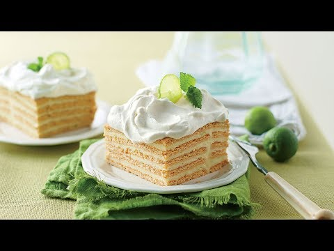 Key Lime Icebox Cake | Southern Living