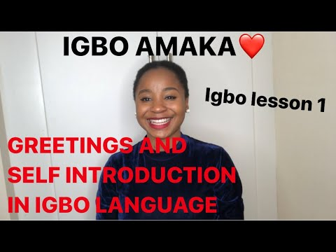 Download Igbo lesson 1 - Learning the #igbo #language fast and easy for #beginners.