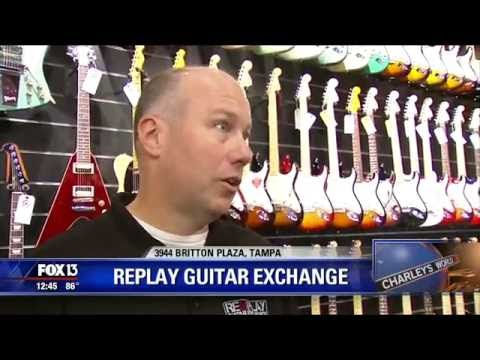 Tampa Guitar Store, Replay Guitar Exchange, is featured on FOX 13