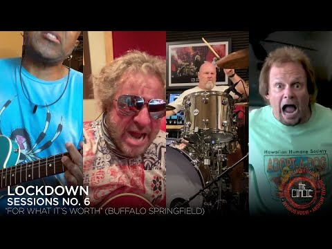 """Sammy Hagar & The Circle - """"For What It's Worth"""" (Lockdown Sessions No. 6)"""
