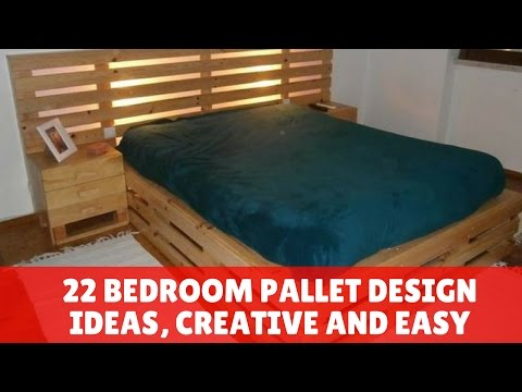 22 Bedroom Pallet Design Ideas, Creative and Easy