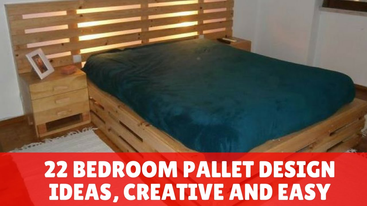 pallet bedroom set 22 bedroom pallet design ideas creative and easy 12787