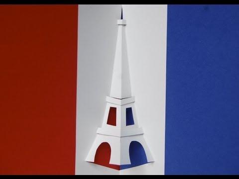 Eiffel Tower Pop-up Card