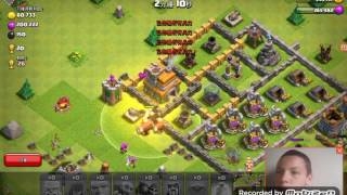 Clash of clans attack # 3 (we attack town hall 7)