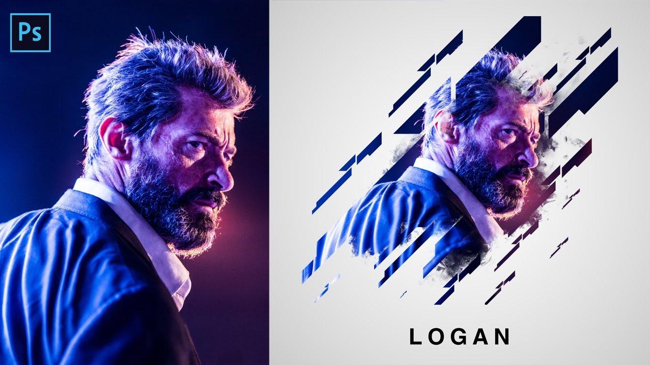 Photoshop Portrait Brush Effects Tutorial | Layer Mask ...