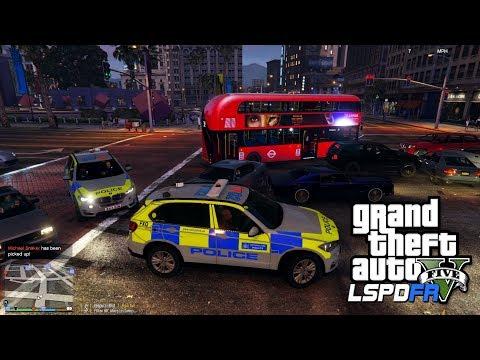 NEW ARMED RESPONSE ARV + HARD STOPS - GTA 5 LSPDFR - The British way #116