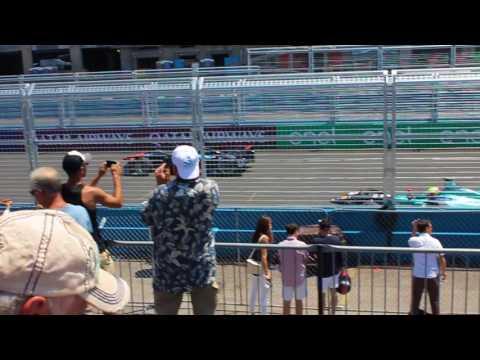 Start of the Formula E NYC EPrix