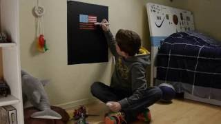 Kassa Chalkboard Contact Paper Decal Product Review and Demo