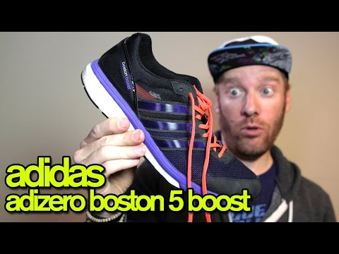 ADIDAS ADIZERO BOSTON 5 BOOST REVIEW | The Ginger Runner
