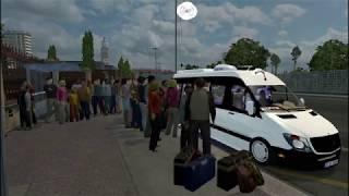 ETS2 - Van Sprinter Taxi Uber Com Passageiros