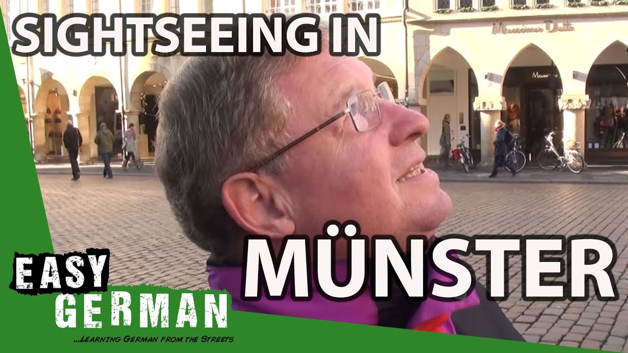 Sightseeing In Münster Easy German 27 Youtube
