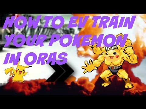How to EV Train Your Pokemon in ORAS